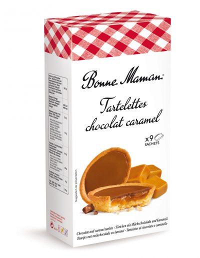 Френски тарталети с млечен шоколад и карамел  Bonne Maman 135 г