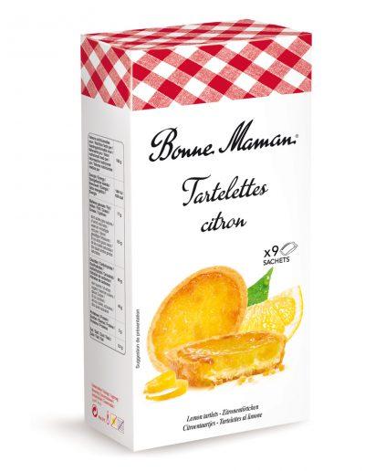 Френски тарталети с лимон  Bonne Maman 125 г