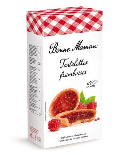 Френски Тарталети с малина  Bonne Maman 135 г