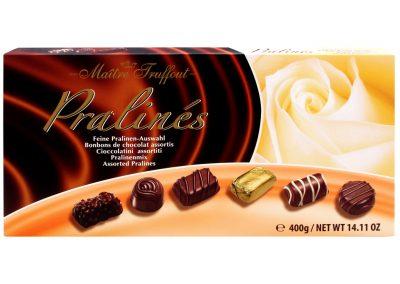 Бонбони с пълнеж асорти Maitre Truffout 400 г