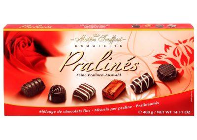 Бонбони с пълнеж асорти червена Maître Truffout 400 г