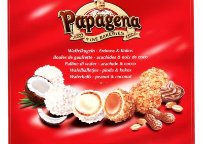 Вафлени топчета микс Papagena 300 г